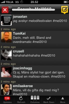 Tweetdeck UI